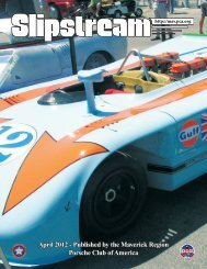 Slipstream - April 2012
