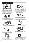 Philips Téléviseur à écran large - Mode d'emploi - HUN - Page 6