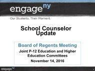 School Counselor Update