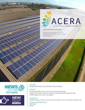 Newsletter ACERA Octubre 2016