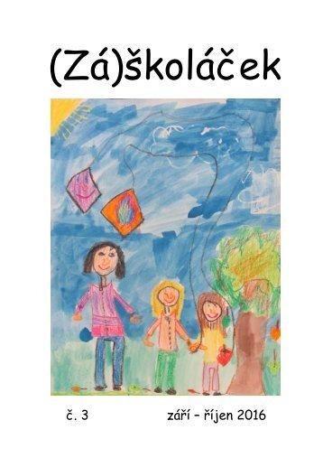(Zá)školáček - č. 3 - září - říjen 2016