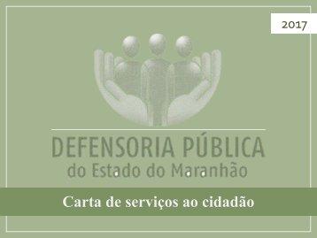 Carta de serviços ao cidadão