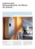 Brennwert-Wandheizkessel Logamax plus für Ein - Heizungstechnik ... - Seite 2