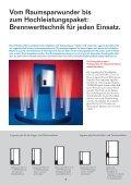 Brennwert-Wandheizkessel Logamax plus für Ein - Heizungstechnik ... - Seite 4