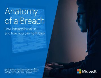 Anatomy of a Breach