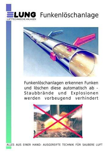 Funkenlöschanlage - LUNG - Lufttechnische Anlagen GmbH