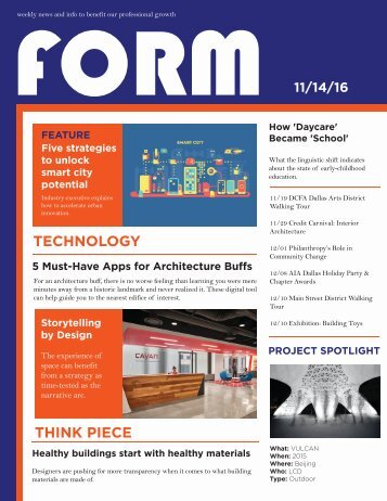 form 11/14, th+a architects