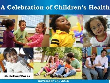 A Celebration of Children's Health