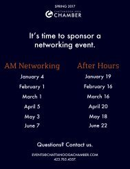 It's time to sponsor a networking event AM Networking After Hours