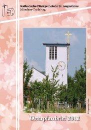 Pfarrbrief Ostern 2012 Trudering St Augustinus