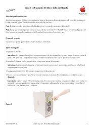 Apple Power Mac G5 (Fine 2004) - Cavo di collegamento del blocco delle parti logiche - Istruzioni per la sostituzione - Power Mac G5 (Fine 2004) - Cavo di collegamento del blocco delle parti logiche - Istruzioni per la sostituzione