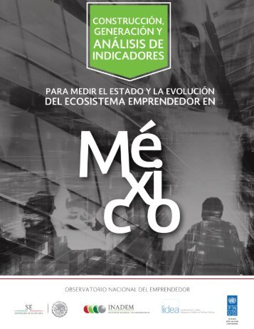 CONSTRUCCIÓN, GENERACIÓN Y ANÁLISIS DE INDICADORES PARA MEDIR EL ESTADO Y LA EVOLUCIÓN DEL ECOSISTEMA EMPRENDEDOR EN MÉXICO