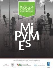 EL EFECTO DE LA CORRUPCIÓN EN EMPRENDEDORES Y MiPyMES