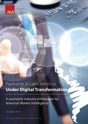 Payments in Latin America Under Digital Transformation