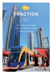 TRACTION by RailGallery | Rail marketing magazine | 2016:11