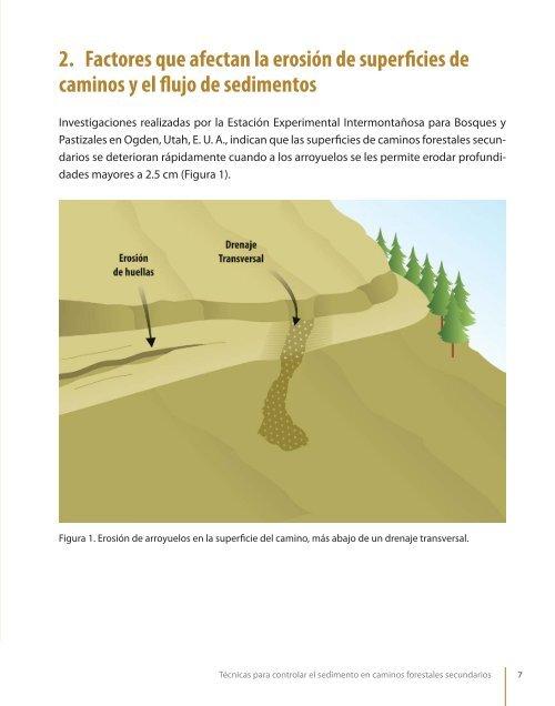 Tecnicas para controlar el sedimento en caminos forestales