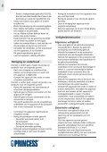 Princess Family Wonder Gourmette - 162305 - 162305_Manual.pdf - Page 4