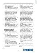 Princess Family Wonder Gourmette - 162305 - 162305_Manual.pdf - Page 5