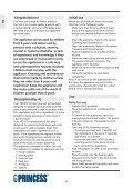 Princess Family Wonder Gourmette - 162305 - 162305_Manual.pdf - Page 6