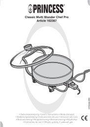 Princess Multi Wonder Chef Pro - 162367 - 162367_Manual.pdf