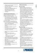 Princess Family Wonder Wok - 162315 - 162315_Manual.pdf - Page 7