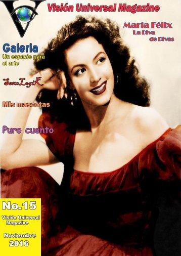Edición No 15 Noviembre 2016