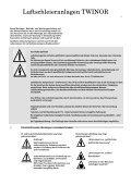 Montageanleitung Betriebsanleitung Wartungsanleitung - Seite 3