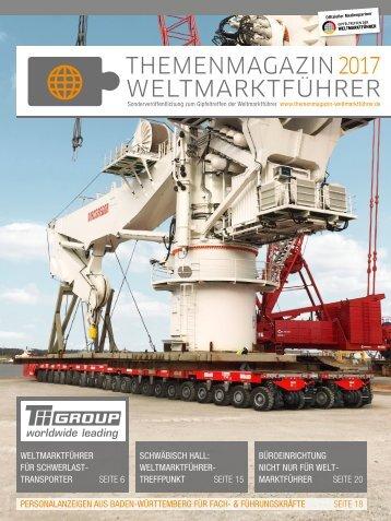 WELTMARKTFÜHRER FÜR SCHWERLASTTRANSPORTER | Themenmagazin Weltmarktführer 2017