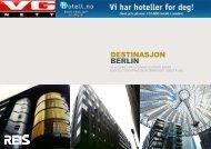 DESTINASJON BErlIN - VG