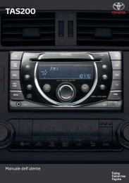 Toyota TAS200 - PZ420-00212-IT - TAS200 (Italian) - Manuale d'Istruzioni