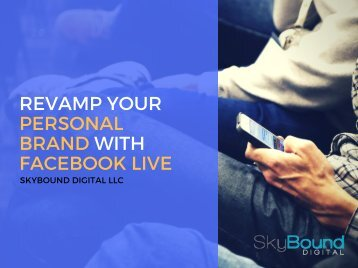 Revamp Your Personal Brand With Facebook Live