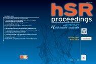 Full HSrproceedings in PDF Volume 1 - N.4
