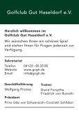 Golfclub Gut Haseldorf Birdie-Book - Seite 3