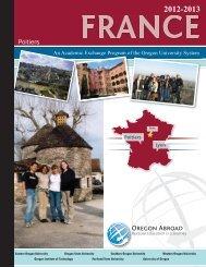 Poitiers - Oregon Abroad. - Oregon University System