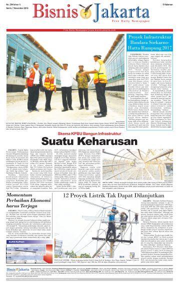 Bisnis Jakarta 7 November 2016
