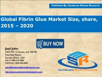 Fibrin Glue Market