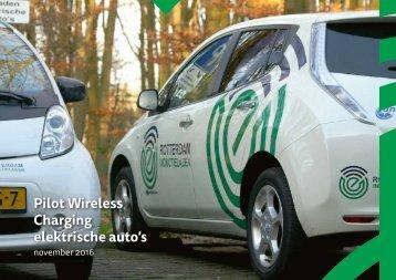 Pilot Wireless Charging elektrische auto's