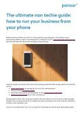 The ultimate non techie guide how to run your business from your phone - Page 2
