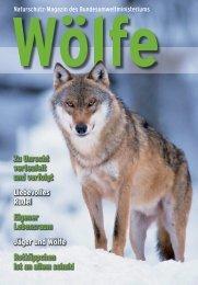 Naturschutz-Magazin des Bundesumweltministeriums: Wölfe