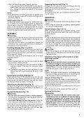 Makita ASPIRATORE SOFFIATORE - BVC350Z - Manuale Istruzioni - Page 7