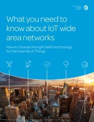 What you need to know about IoT wide area networks