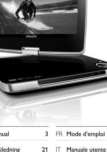 Philips Lecteur de DVD portable - Mode d'emploi - AEN