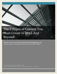 The 7 Types of Content You Must Create In 2015 And Beyond66