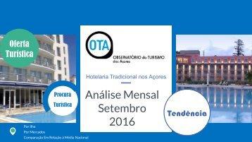 Hotelaria Tradicional Acores_Setembro 2016