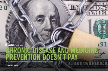 PREVENTION DOESN'T PAY
