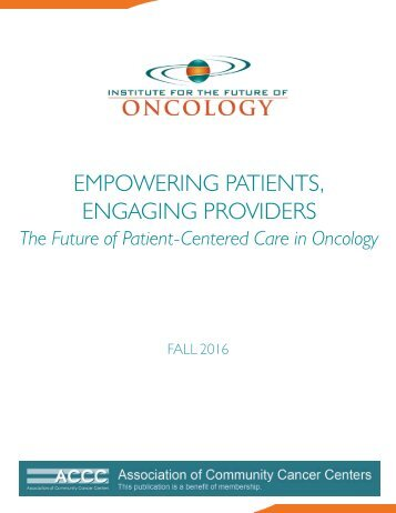 EMPOWERING PATIENTS ENGAGING PROVIDERS