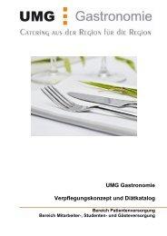 Verpflegungskonzept - UMG Gastronomie GmbH