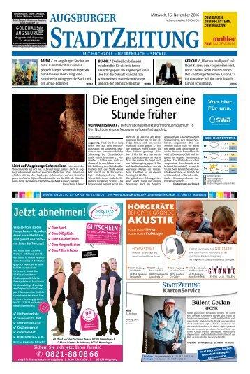 104 Augsburg - Süd-Ost 16.11.2016
