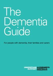 Alzheimer's Australia Vic  | The Dementia Guide