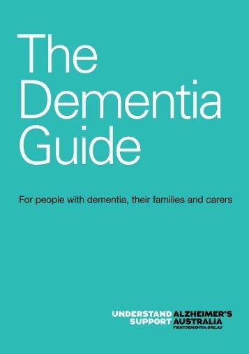 Alzheimer's Australia Vic    The Dementia Guide